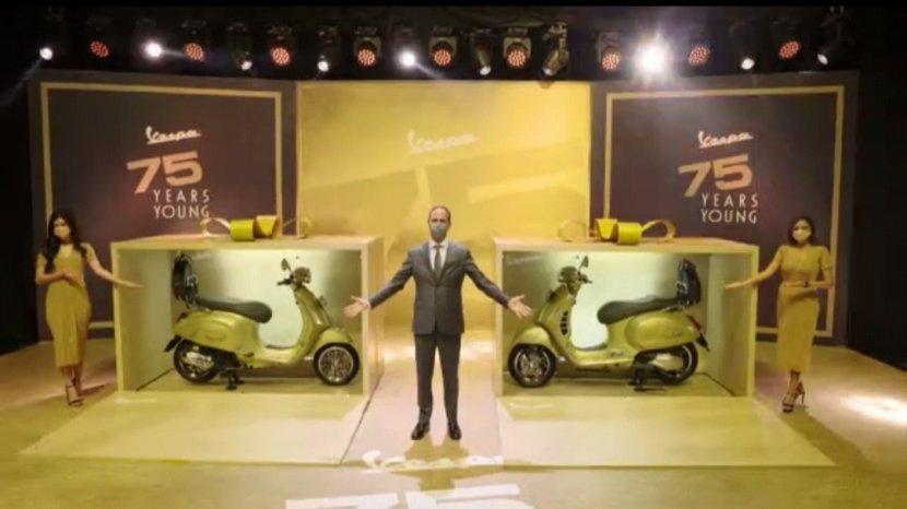 Vespa Rayakan 75 Tahun Kehadirannya di Jagad Otomotif, Hadirkan Edisi Terbatas yang Elegan