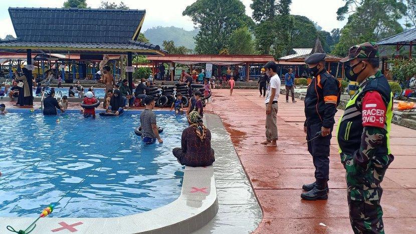 Pemandian Air Panas Ciwalini Dibuka Lagi, Protokol kesehatan Diterapkan Ketat, Pengunjung Diawasi