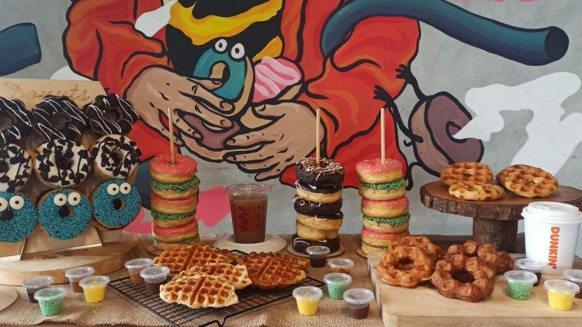 Dunkin Kini Sediakan Moffle, Doffle, dan Waffle. Diproduksi Hanya di Kota Bandung