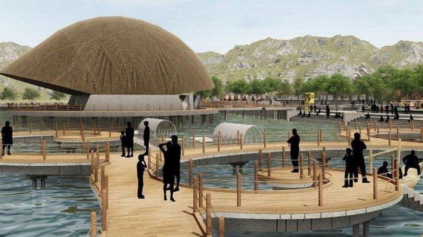 Inilah Rencana Enam Zona Ekowisata yang Akan Dibangun di Situ Bagendit Garut, Terealisasikan 2021