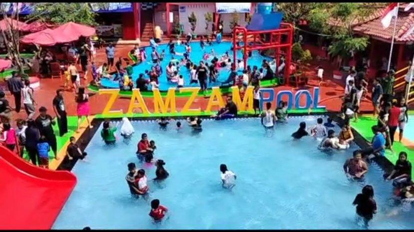 Manajemen Zamzam Pool Kuningan Terapkan Protokol Kesehatan Kendalikan Jumlah Wisatawan yang Datang