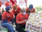 Bupati Kuningan Ajak Pelajar SD Hingga SMA Melestarikan Batik Kuningan