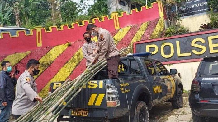 Aipda Citro Haduduan Manalu,Polisi Pendiam yang Bangun Banyak Rumah untuk Warga di Cianjur