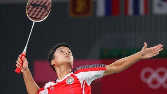 Anthony Sinisuka Ginting, Sang Peraih Medali Perunggu Olimpiade Mengenal Bulutangkis dari Ayahnya