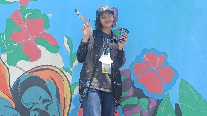 Pilihan Aulia Puji Lestari jadi Muralis Sempat Ditentang Orang Tua, Banyak yang Minta Dilukis Mural