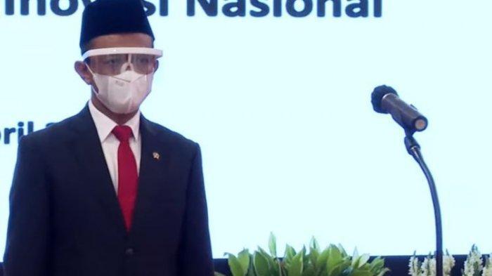 Pelantikan Bahlil Lahadalia sebagai menteri investasi di Istana Negara, Rabu (28/4/2021)