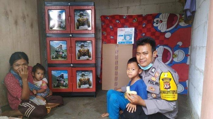 Brigadir Sugiarto Rela Bangun Rumah Baru bagi Warga yang Sebelumnya Tinggal di Bekas Kandang Domba