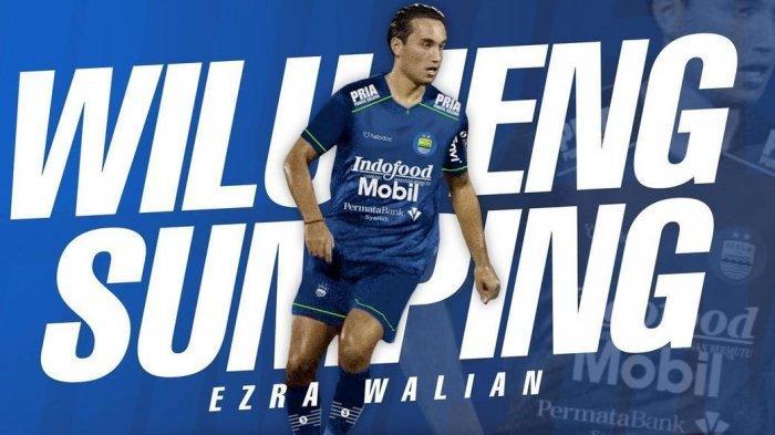 Ezra Walian, pemain baru Persib Bandung asal Belanda