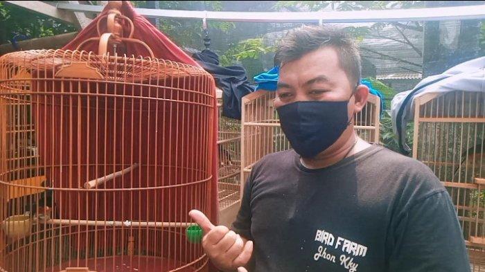 Bermula dari Hobi, Jhon Akhirnya Membuka Peternakan Burung, Omzetnya Capai Rp 100 juta Per Bulan