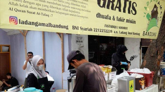 Aktivitas Ladang Amal di Kota Bandung