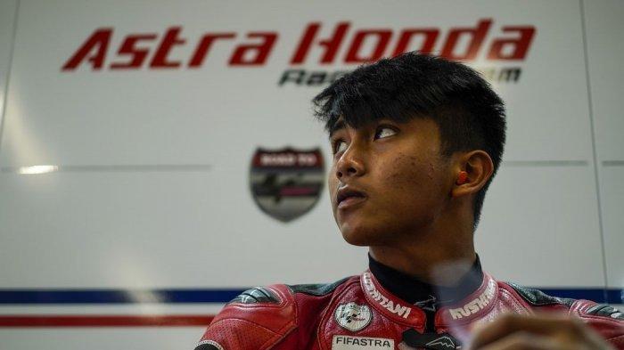 Pebalap Muda Tim Astra Honda Racing, Mario Suryo Siap Bersaing di Kejuaraan Dunia Moto3