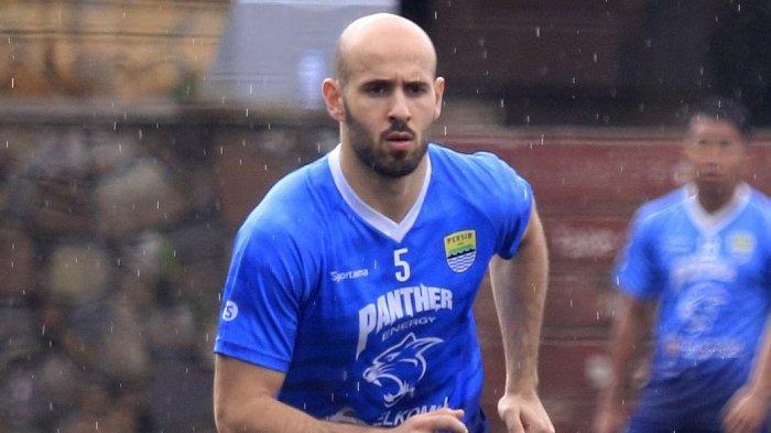 Mohammed Rashid Tidak Mau Mengecewakan Bobotoh Persib, Berharap Segera Bertanding di Liga I