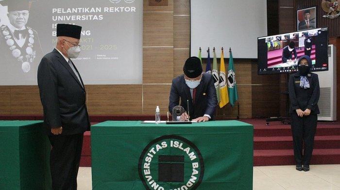 Profesor Edi Setiadi Kembali Terpilih Menjadi Rektor Universitas Islam Bandung (Unisba)