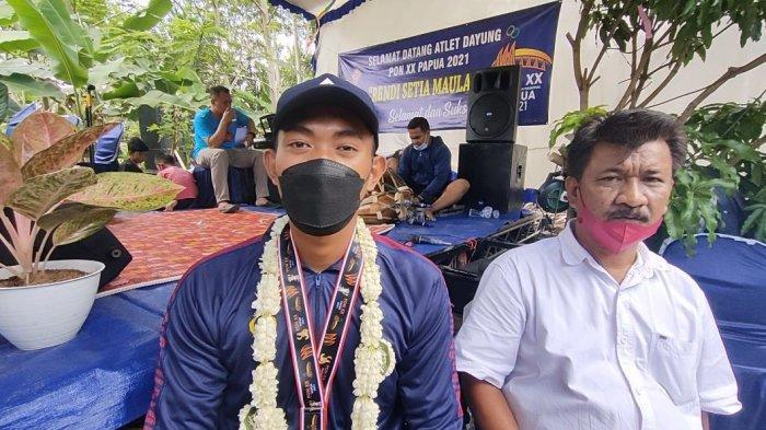 Rendi Maulana Serasa Bermimpi Mampu Meraih Medali Emas PON Papua Cabang Dayung