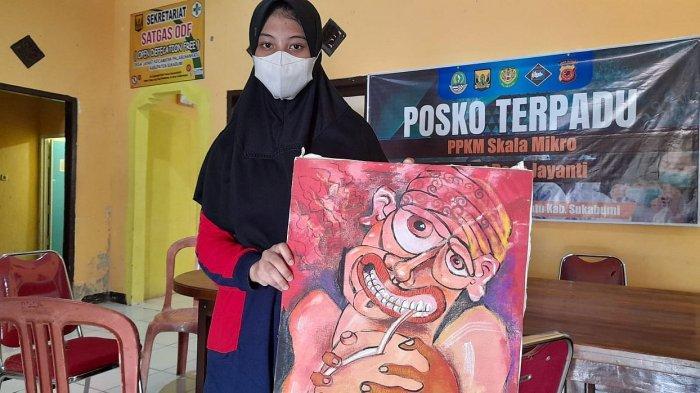 Siti Nurfadilah, Gadis Tunarungu yang Pandai Melukis, Orang Tuanya Belum Mampu Beli Alat Pendengaran