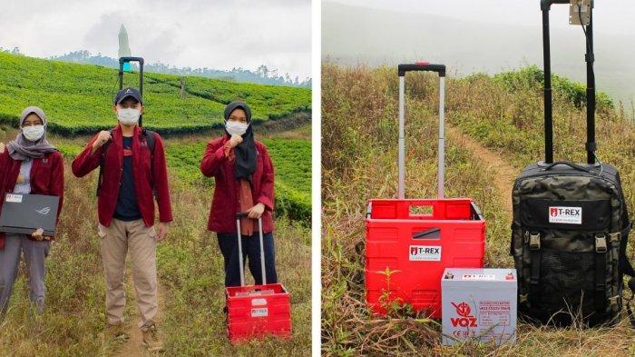 Mahasiswa Tel-U Ciptakan T-Rex Sebagai Sarana Telekomunikasi Darurat di Daerah Pascabencana