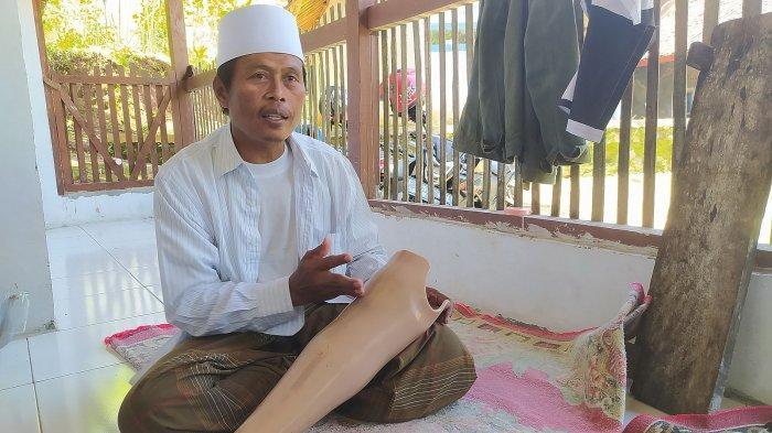 Ustaz Tajudin Ikhlas Kakinya Diamputasi, Ia Pun Kian Semangat Mengajar Ngaji