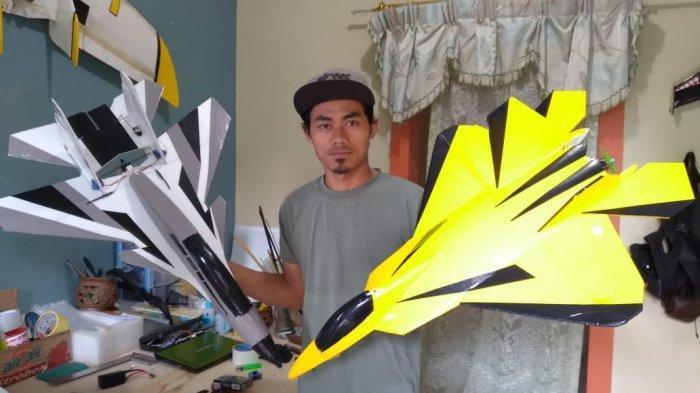 Wawan Ernawan, Sopir Angkot di Sumedang yang Banting Setir Jadi Pembuat Pesawat Aeromodelling