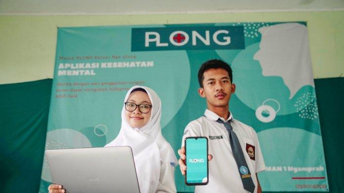 Farhan dan Ananda, Pelajar SMAN 1 Ngamprah Bikin Aplikasi Plong untuk Mengurangi Risiko Depresi