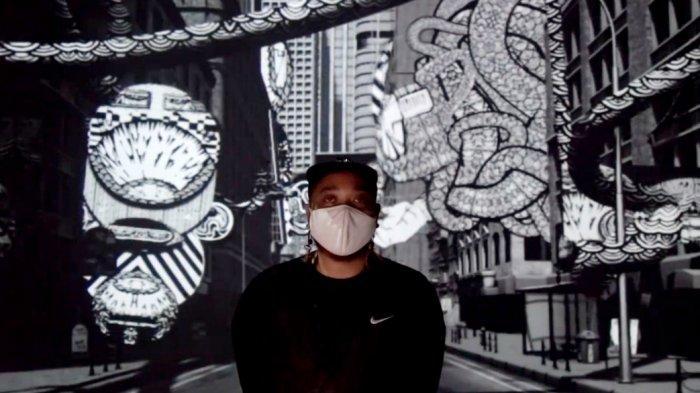 Mural Hitam Putih Karya Seniman Misterius Ini Mempesona di Kala.Borasi