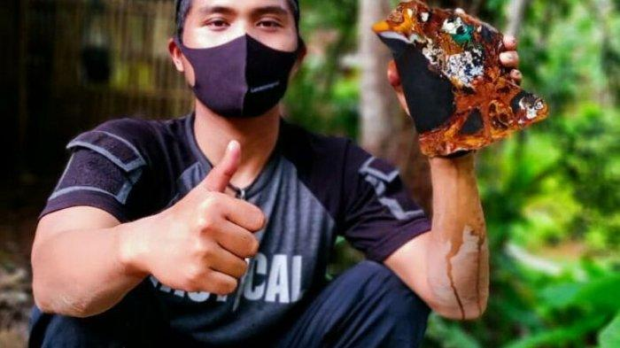 Bisnis Batu Akik Masih Menjanjikan, Iwan Ridwan Rutin Jual Bongkahan Batu Akik Garut ke Mancanegara