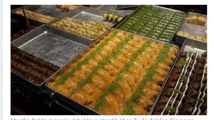 Yuk Cicipi Pastri Mungil Khas Turki di Mardin Baklava Cipinang, Nikmat Bertabur Kacang Pistachio