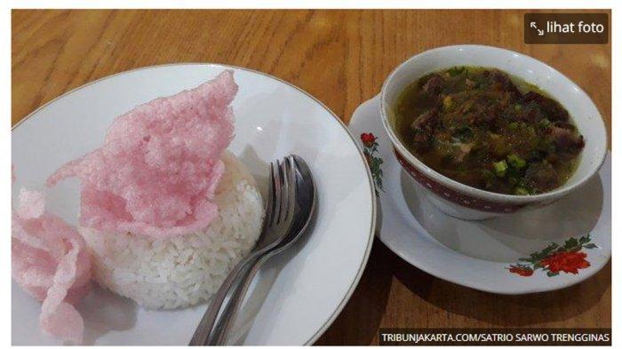 Mencicipi Soto Padang H Sutan Mangkuto di Pasar Baru yang Legendaris Sejak 1966
