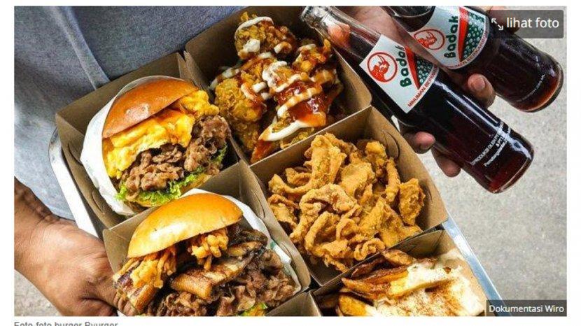 Byurger: Burger Kekinian Ala Anak Muda di Pasar Cipete Selatan, Berawal Jenuh Kerja Jadi Juru Masak