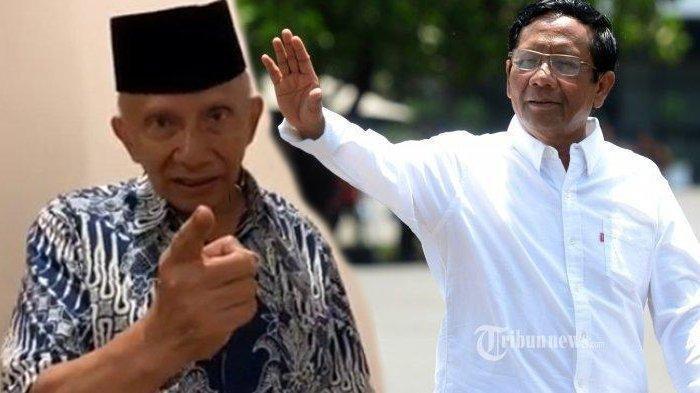 Amien Rais Akan Jewer Menteri jika 6 Bulan tanpa Kemajuan, Mahfud MD: Saya Mau Ketemu Biar Dijewer