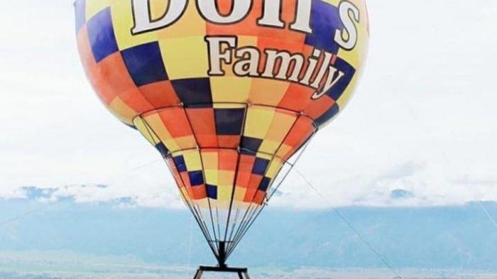Wisata Menarik di Kerinci, Sensasi Nikmati Keindahan Kerinci di Atas Balon Udara Berwarna-Warni