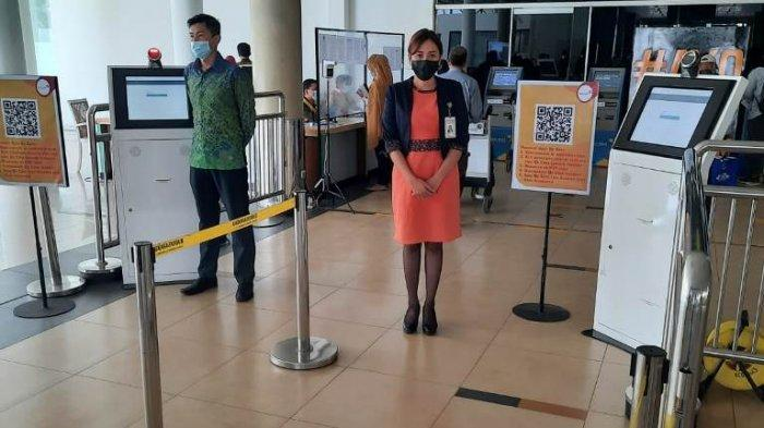 Tribunners Harus Perhatikan Ini Bandara Sultan Thaha Jambi Mulai Berlakukan Aplikasi Peduli Lindungi