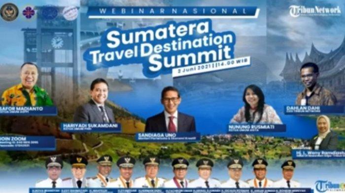 Tribun Network Gelar Seminar Nasional Sumatra Travel Destination Summit, Menteri Sandiaga Uno:Gaspol