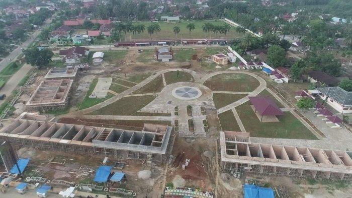Ruang Terbuka Hijau, Taman Terpadu Rimbo Bujang Ini Tempat Wisata Baru di Kabupaten Tebo