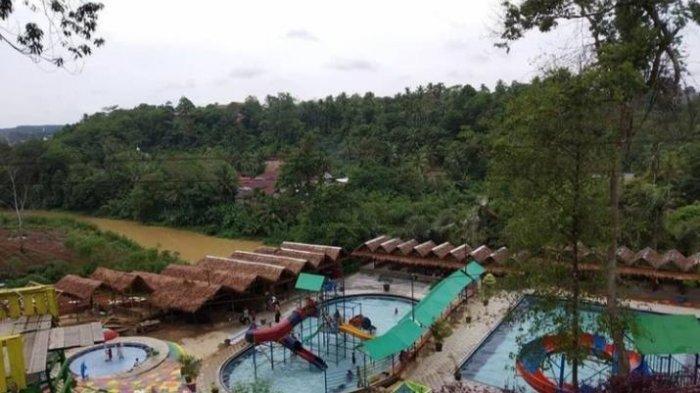 Wisata Kolam Renang di Merangin, Ayo Tribunners Kunjungi Sikumbang Water Park