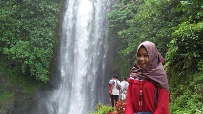 Indahnya Air Terjun Renah Sungai Besar di Bungo, Wisata Alam Favorit Anak Muda Jambi