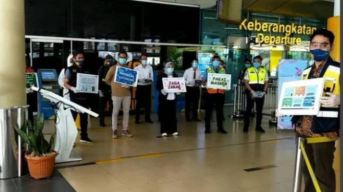 Larangan Mudik 2021, Bandara Sultan Thaha Jambi Siapkan Posko Monitoring dan Pemeriksaan Dokumen