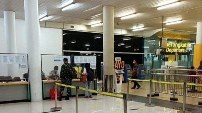 Rapid Test Selama Larangan Mudik di Bandara Sultan Thaha Jambi Beroperasi, Layani Dua Penerbangan