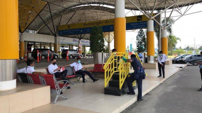5 Unit Bus Trans Siginjai Mulai Masuk Bandara Sultan Thaha Jambi, Layani Rute Ini