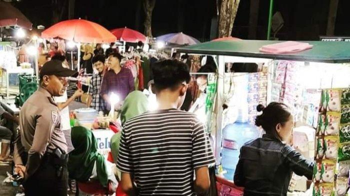 Wisata Kuliner Malam Kota Jambi, Banyak Makanan Khas di Car Free Night Tugu Keris Siginjai