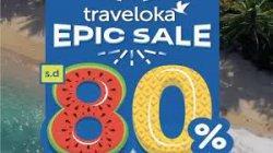 Traveloka Tawarkan Puluhan Produk Travel dan Lifesyle, Diskon Hingga 80 Persen di Epic Sale 2021