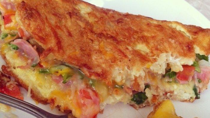 Coba Hashbrown Omelette, Menu Sahur Istimewa, Praktis dan Gampang Buatnya