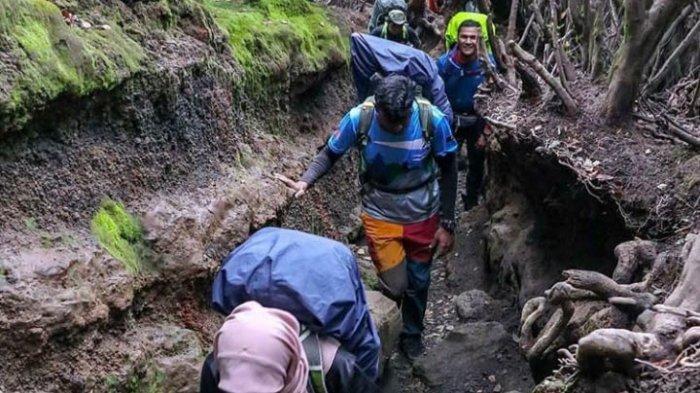 Simak Urutan Estimasi Waktu Perjalanan Mendaki Gunung Kerinci, Perjalanan Sampai 7 Jam