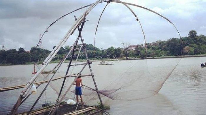 Mengenal Tangkul, Perlatan Tangkap Ikan Tradisional Jambi Yang Ramah Lingkungan
