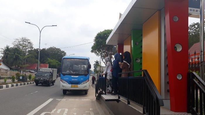 18 Halte Bus Trans Siginjai Akan Ditambah di Pusat Perbelanjaan, Ada GPS Juga