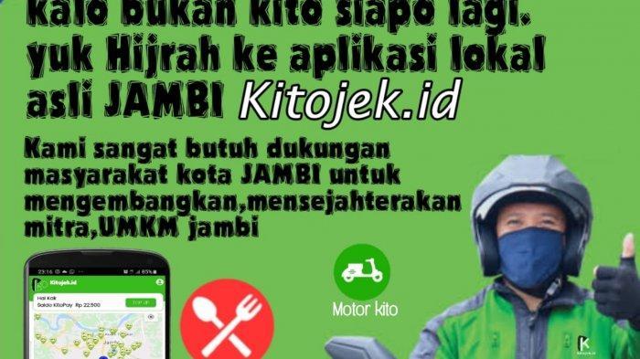 Tribunners, Cobain Aplikasi Karya Anak Jambi, Kitojek Hadir di Kota Jambi