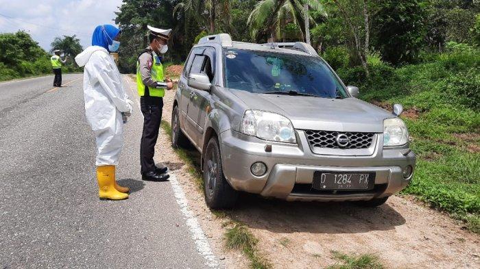 Dilarang Mudik, 33 Pos Perbatasan Masuk Jambi Disekat, Darat dan Laut di Diperketat