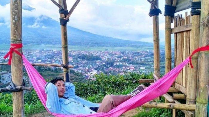 Objek Wisata Puncak Rindu di Kerinci, Menikmati Keindahan Kebun Teh Dari Ketinggian