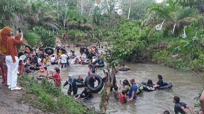 Betah Lama Bermain di Sungai Napal Muarojambi, Menikmati Keindahan Wisata Air