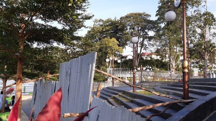 Taman Pedestrian Danau Sipin Belum Dibuka, Peresmian Direncanakan Sebelum Puasa