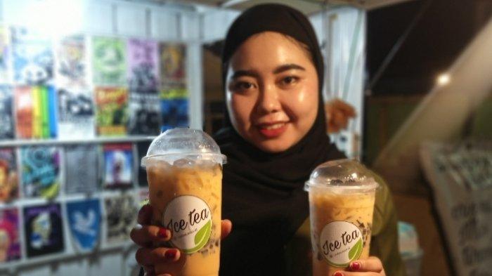 Buat Buka Puasa, Rekomendasi Takjil Kekinian Menyegarkan, Thai Tea Cincau Kota Jambi Patut Dicoba